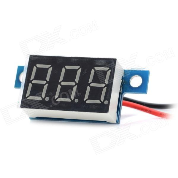 3.3V~30V Electric Motorized Car Voltage Display Board - Blue p7 outdoor dip full color led panel display module high resolution high brightness high refresh high quality