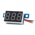 3.3V~30V Electric Motorized Car Voltage Display Board - Blue