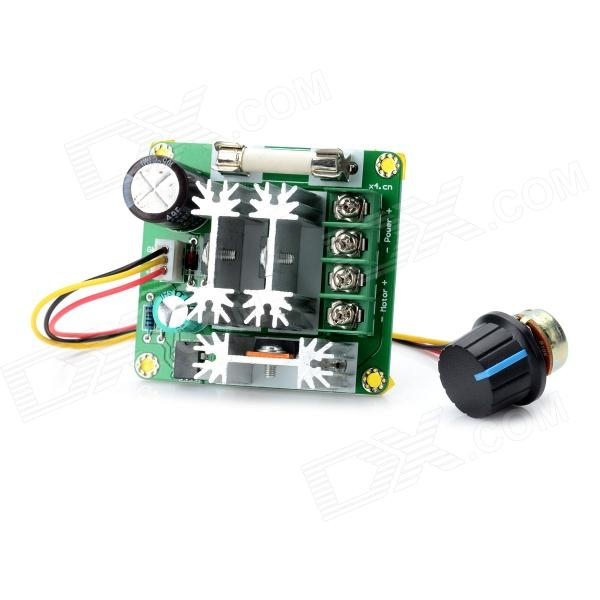 DC 6V~90V 15A PWM Motor Speed Control Switch Governor - Green + Black