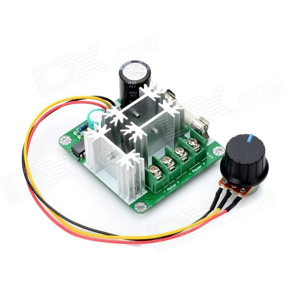 Dc 6v 90v 15a Pwm Motor Speed Control Switch Governor Green Black Free Shipping Dealextreme