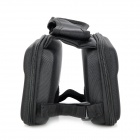 Outdoor Bike Bicycle Top Tube Double Bag - Black