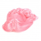 M2013 C615 Fashion Cosplay Lady's Long Curl Hair Wig - Pink