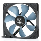 Akasa AK-FN072 Piranha 120mm 4-Pin PWM 7-Blade Cooling Fan for Computer - Black