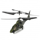 YuXing 69039 3.5-CH R/C Helicopter with Gyroscope & IR Controller - Army Green