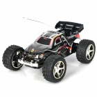 Rechargeable 2-Channel 27~40MHz R/C Off-Road Vehicle Model Toy - Black