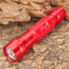 UltraFire WF-501B Cree XM-L T6 885lm 3-Mode Memory White Light Flashlight - Red (1 x 18650)