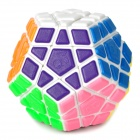 QJ Irregular 12-Sides Brain Teaser Magic IQ Cube - White