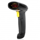 LM-6100 Handheld USB Visible Laser Barcode Scanner - Black