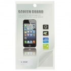 Protective Glossy Screen Protector Guard Film for Iphone 5 - Transparent Silver