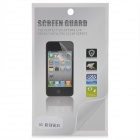 Protective Scratch Resistant Glossy Front + Back Screen Protector Guard for Iphone 5 - Transparent