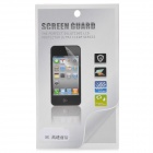 Protective Glossy Front + Back Screen Protector Guard Film for Iphone 5 - Transparent