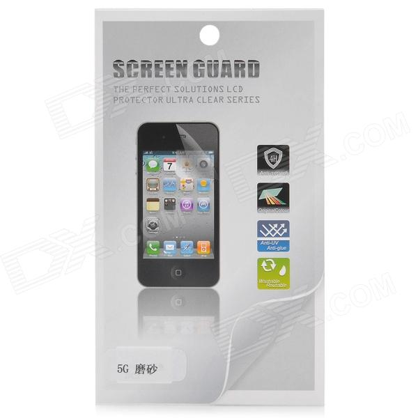 Protective Matte Screen Protector Guard Film for Iphone 5 - Transparent y sw5 protective matte screen protector guard film for iphone 4 4s transparent