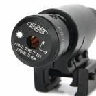 5mW 670nm Red Laser Rifle Scope with Gun Mount - Black (3 x AG13)