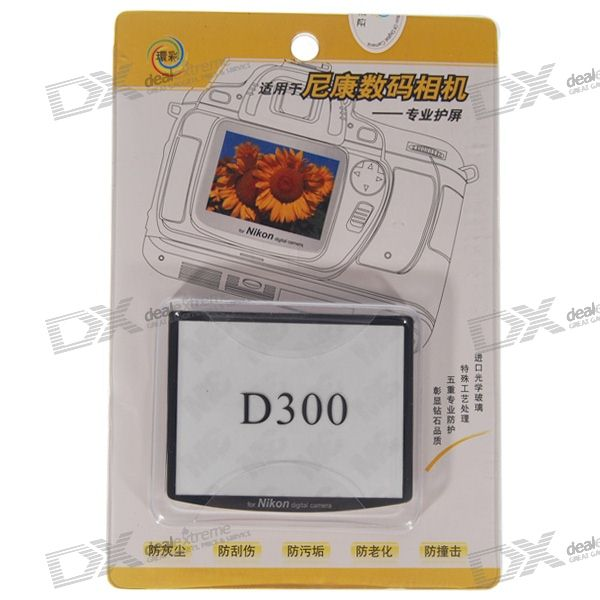 Professional Screen Protector for Nikon D300 Digital Camera