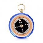 Outdoor J50 Stainless Steel Compass w/ Damping Oil - Blue