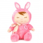 Cute Rabbit Girl Style Plush Doll Toy - Pink