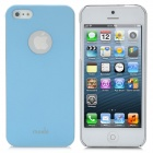 Protective Plastic Case Cover for iPhone 5 - Light Blue