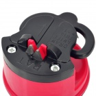 Knife Sharpener with Suction Cup - Deep Pink + Black
