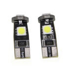 CANBUS T10 1.8W 45lm 3-SMD 5050 LED White Light Car Trunk Lamp (12V / 2PCS)