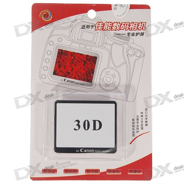 Professional Screen Protector for Canon 30D Digital Camera
