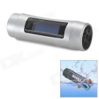"Sport Waterproof 1.1"" Display MP3 Player w/ FM Radio - Silver (4GB)"