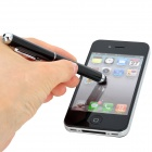 Universal 3-in-1 Stylus Pen w/ Red Laser + White LED Light for Capacitive Screen - Black (3 x LR41)