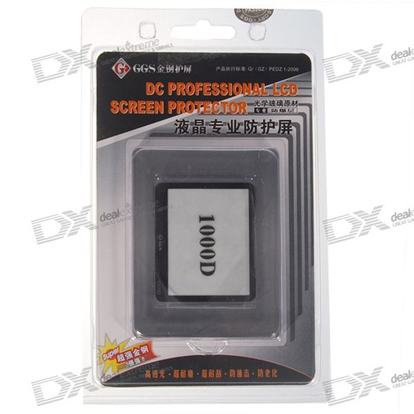 GGS Professional Screen Protector for Canon 1000D Digital Camera