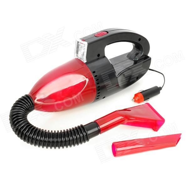 Portable Car Vehicle Handheld Vacuum Cleaner - Red (12V / 140cm-Cable)