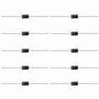 60V 5A Single Way Rectifier Diodes Set - Black + Silver (10 PCS)