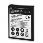 Replacement 3.7V 1800mAh Battery for HTC MyTouch 4G / 6400 / Thunderbolt 4G - Black