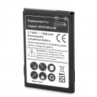 Replacement 3.7V 1500mAh Battery for HTC Legend G6 / Wildfire G8 - Black