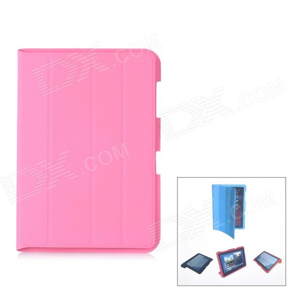 Protective PU Leather Case for Samsung Galaxy Note 10.1 N8000 - Pink планшет samsung galaxy note 10 1 16gb gt n8000 black