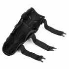 AMT-YW017 Motorcycle Sports Outdoor Riding Knee Pad Guard - Black (Pair)