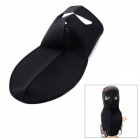 Outdoor Sports Neck Protector Full Face Mask - Black