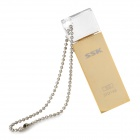 SSK SFD166 USB 2.0 Flash Drive - Golden (8GB)