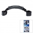 Nylon Adjustable Strap Plastic Hand Grip for Tripod - Black