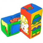 Lok Yee 6508 Intelligence-improving Building Block Toy - Blue + Green + Yellow + Red