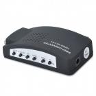 W1209006 TV-BNC High Definition Video VGA Converter - Black