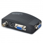 TV-BNC High Definition Video VGA Converter - Black