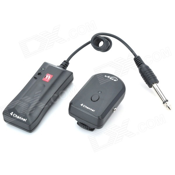 4-Channel Professional Studio RF Remote Wireless Flash Trigger (433MHz)