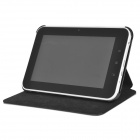 Protective PU Leather Case for Samsung Galaxy Tab 2 7.0 - Black