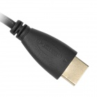 1080P HDMI V1.4 Male to Male Audio Video Transmission Cable - Black (140cm)