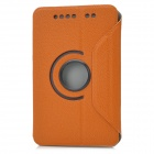 Lichee Pattern Protective Fiber + PC Case for Google Nexus 7 Tablet - Brown