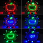 5W Colorful RGB LED Decorative Light Lamp - Silver