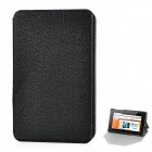 Lichee Pattern Protective Fiber + PC Case for Google Nexus 7 Tablet - Black