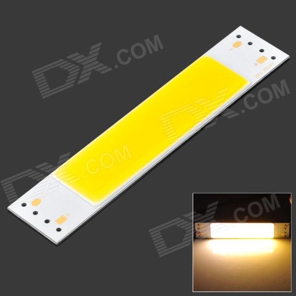 DIY 3W 270LM 3200K Warm White Light Flat Strip LED Module (9~10V)