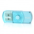 SSK SFD017 USB 2.0 Flash Drive - Синий (8GB)