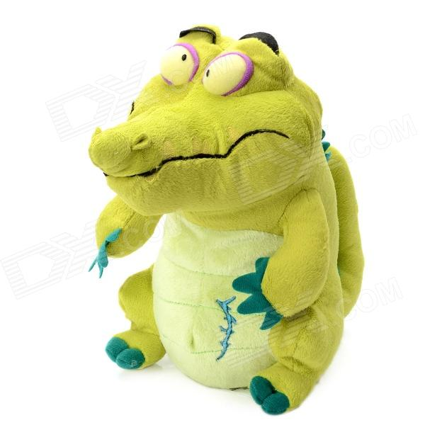 Big Stubborn Crocodile Shaped Plush Toy - Green от DX.com INT