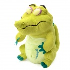 Big Stubborn Crocodile Shaped Plush Toy - Green