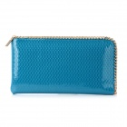 Fashion PU Leather Handbag for Women - Blue